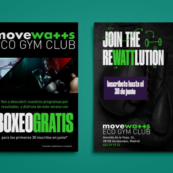 Flyer Boxeo Movewatts
