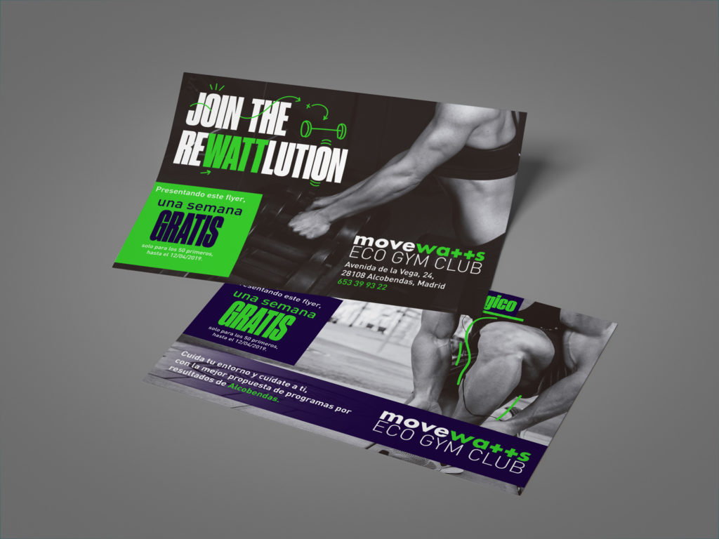 Movewatts flyers design